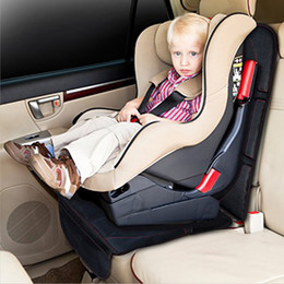 LUNDA Universal Car Seat Protector Mat black car Seat Cover Infant Baby Easy Clean Seat Protector Safety non-slip
