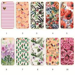Shell For Apple iPhone 5 5S SE 6 6S 7 Plus 6SPlus Back Case Cover Printing Mandala Flower Datura Floral Cell Phone Cases