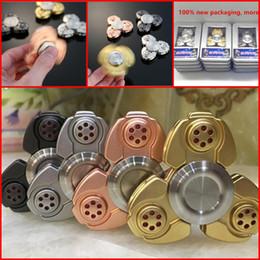 Bolas de rodamiento en venta-2017 más reciente EDC CKF Fidget Spinner Handspinner Mano Spinner dedo descompresión ansiedad metal de acero de rodamiento de bolas Metal Zinc Aleación jalea juguetes