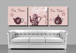 Leisure Time Three-picture painting oil paintings Canvas Home Decor pictures Triptych