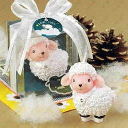 Wholesale Birthday party ideas Birthday candles Goats Aries sheep small candle DHL
