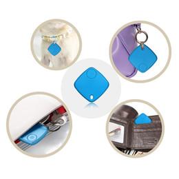 2017 dispositivos anti-robo de coches Hot SaleMini Bluetooth GPS Traker localizador de alarma portátil Anti-perdió Key Finder Car clave de mascotas mini gps personalTracker de dos vías dispositivo antirrobo dispositivos anti-robo de coches baratos