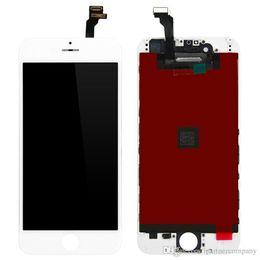 Para el iPhone 6 lcd Pantalla con montaje del reemplazo del digitizador Ningún pixel muerto LCD Calidad original con el vidrio de las tapas altas y las herramientas libres cheap high quality iphone glass desde iphone vidrio de alta calidad proveedores