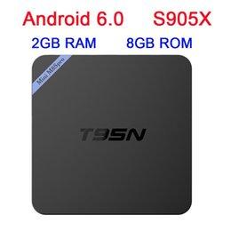 Wholesale T95N quad core android hd network intelligent TV set top BOX BOX KODI g g TV BOX