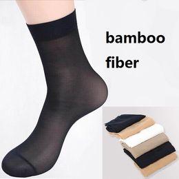 Wholesale pairs women s bamboo fiber nylon Socks Extra thickness extra elastic about g pair velet