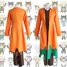 Wholesale Alfred F Jones cosplay costumes Japanese anime Axis Powers Hetalia clothing Halloween Masquerade Mardi Gras Carnival costumes