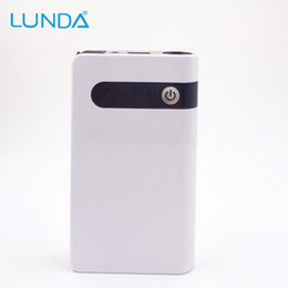 LUNDA Jump Starter 12000mAh 12V Car jump starter Portable Power Bank mini Emergency booster Car Battery Car Charger Free shippi