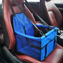 Argentina Pet Dog Carrier Asiento de coche Caja de seguridad Llevar Casa Cat Puppy Bag A prueba de agua Car Travel Accesorios Manta Impermeable Dog Bag Basket Productos para Mascotas Suministro