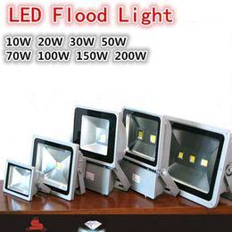 Waterproof LED Floodlight Landscape Flood Lights Wall Wash Light 10W 20W 30W 50W 70W 100W 150W 200W Outdoor Floodlight Warm White White