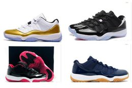Wholesale Navy Gun Retro Cherry Low Basketball Shoes Sneakers GS Space Retro s Cheap Athletic Men s Sport Shoes XI Sale
