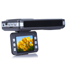 Compra Online Cámaras de lentes de porcelana-Cámara DVR de coche 2 '' LCD Full HD 720P 30FPS Ruso Inglés Voice Laser Radar Full Band Detector con lente de visión nocturna Dash Cam