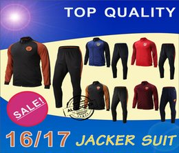 Wholesale Athletic Madrids Man City and Romas Soccer jacket Suit New Arrival Men Sports Set High Quality Soccer Jackets Soccer Pants Best Sweat Suits