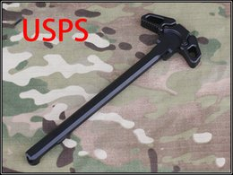 Wholesale Butterfly style Metal Cocking Handle poignee airsoft for WA G P PTW M4 M16 Series Airsoft GBB airsoft m16