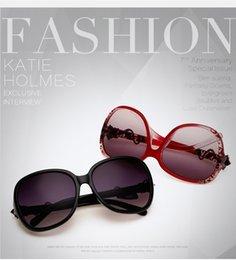 Descuento espejo de cristal clásico Europa y los Estados Unidos Actriz con gafas de sol Fine Mirror Classic Gafas de sol Simple Wild Leisure Glasses