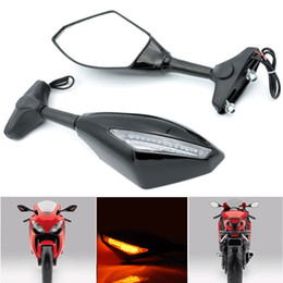 New urn Signal Integrated Mirrors Black For Honda CBR 600 F1 F2 F3 F4 F4i 1987-2006,CBR 600RR 2003-2010(except 2005) CBF1000 (2010-2011)