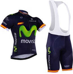 Wholesale 2017 Movistar New Cycling clothing Pro Cycling Jersey Ropa Ciclismo Bicycle sets Mountain MTB Bike cycling clothing Maillot Ciclismo