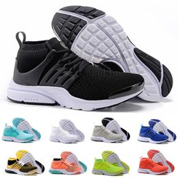 Wholesale With Box Air Presto Fly Line Ultra Olympic BR QS Running Shoes For Men NAVY RED GOLD Fashion Casual Walking Sports Sneakers Women US