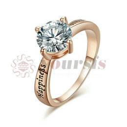 Yoursfs Fashion Rings Jewelry Cubic Zirconia Rings for Women Engagement Wedding Female Rings Cute Jewelry