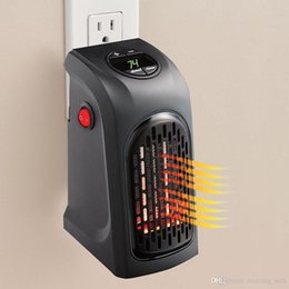 Wholesale Cheapest Mini Handy Heater Plug in Personal Heater Home Use The Wall outlet Space Heater Watts Handy Heaters as Chrsitmas gifts