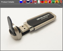 Wholesale Factory full capacity USB Flash Drives GB GB GB GB Memory Stick USB Flash Drive high quality chip leather
