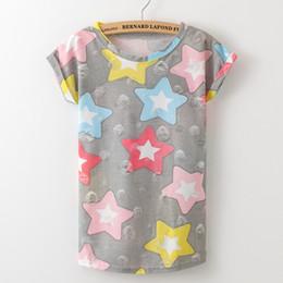 2017 tipos de pantalones cortos para las mujeres 2017 mujeres del verano del enrejado impresión camisetas O-cuello sin tirantes camisas de hombro de manga corta T-shirt Tipo suelto tipos de pantalones cortos para las mujeres en oferta