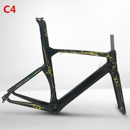 Wholesale New Model Concept T1000 Toary Carbon Road Bike Frame Fork Seat post Headset Racing Bicycle Frames Bike Frameset XXS XS S M L XL