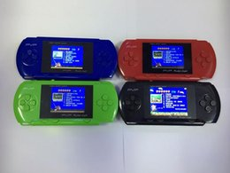 Wholesale New hot PXP2 bit Children Classic Handheld Digital Screen Video Game Console PVP PSP SP For Kids