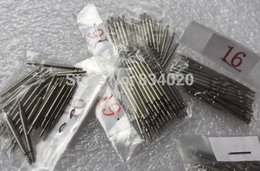 2017 regarder des pièces de réparation Grossiste-Livraison gratuite taille entière [10-25mm] 1.8mm 1000pcs bande de montre de printemps Barres Strap Link Pins sangle Repair Parts Watchmaker Tool regarder des pièces de réparation sur la vente