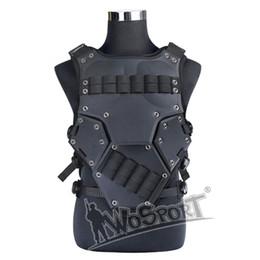 Compra Online Proteger a paintball-WosporT Transformers Chalecos tácticos al aire libre Hunter Paintball CS Wargames Protegido Combate chaleco TF3 chaleco con 2 bolsas de la revista