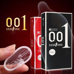 Wholesale Made in Japan mm super thin condom OKAMOTO ORIGINAL NO Rubber Allergy Polyurethan L size mm sex free feel sagami
