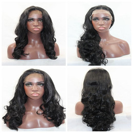 Natural Looking Synthetic Body Wavy Long Wigs with baby hair Heat Resistant Synthetic Lace Front Wigs for Black Women 150% density
