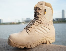 Wholesale Men s Delta boots desert combat boots military fans mountaineering boots