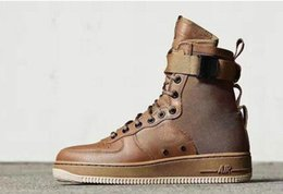 Wholesale With Box New Men Women High Air SF AF1 Running Shoes Fashion Unisex Special Field Forces Urban Utility Boots Sneakers Sports Shoes