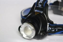 Cree llevó la garantía en venta-Lámpara ligera del faro del faro del CREE XM-L T6 3000LM lámpara ligera de la cabeza de la lámpara + 2x 5000mAh GAS Estación luces lámpara del almacén 5 años de garantía