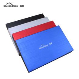 Una caja portadiscos disco en venta-Venta al por mayor - disco duro usb 3.0 hdd 2.5 pulgadas caso sata disco duro externo caso de disco caja ssd caddy bolsa de almacenamiento para 1tb duro conductor U23YA