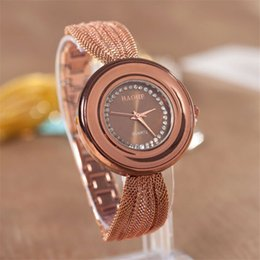 Fashion Brand BAOHE Design Luxury Watches Women Fashion Golden Plated Cz Diamond Quartz WristWatch Women Casual Watch Relogio Feminino