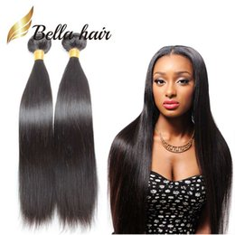 4pcs lot Full Head Straight Hair Weft Unprocessed Peruvian Hair Weaves Natural Color 9A Human Hair Extension Free Shipping