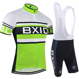 BXIO Brand Cycling Clothing Short Road Cycling Team Jerseys Cool Green Bike Wear Sets Fashion Anti Shrink Mountain Bike Jerseys BX-009