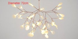 Wholesale Small Pendant Lights tree leaf vintage LED Lamps Fixtures By Bertjan Pot from suspension lamp Home lighting
