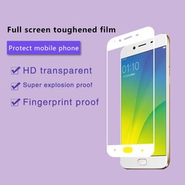 OPPO R7 R9 Tempered Glass Protective Film Premium screen Protector film Mobile phone 9H 3D Toughened Membrane For