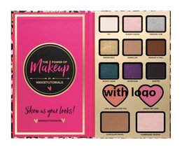 Wholesale HOT The Power of Makeup by Nikkie Tutorials Eyeshadow Face Cosmestic Palette Too Blush Bronzer Highlighter Shadow Palette DHL Free
