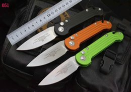 MICROTECH LUDT 1315 otf knife Folding Pocket Knife automatic knives Water drop shape blade microtech tactical hunting knives