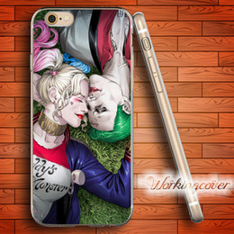 Capa Suicide Squad Soft Clear TPU Case for iPhone 7 6 6S Plus 5S SE 5 5C 4S 4 Case Silicone Cover.