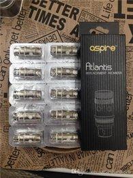 Promotion aspire atlantis méga Best aspire atlantis bobine de rechange atlantis v2 bobine altantis mega bobine clone pour atlantis série réservoir