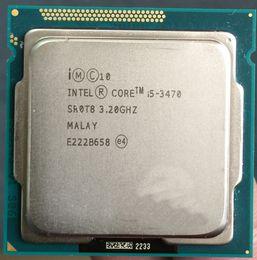 Original i5-3470 desktop cpu quad-core Intel Core i5 3470 Processor 6M up to 3.60GHz 1600 MHz LGA 1155 quad-CORE