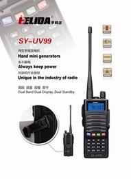 hand generators walkie taklie transceiver 5W SY-UV99 VHF UHF THREE Band 136-174 200-260 400-520 MHz two way radio