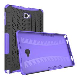 FOR Samsung Galaxy Tad A 10.1 P580 P585 10.5 T590 T595 Tab S4 10.5 T830 T835 Hybrid KickStand Impact Rugged Heavy Duty TPU+PC Cover Case 20P