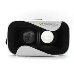 Wholesale New style stitching vr glasses vr box storm virtual reality head mounted Virtual reality goggles mobile phone d magic mirror vrshinecon