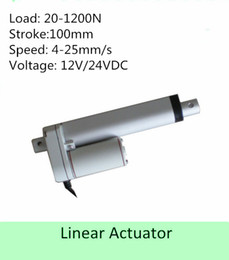 Wholesale 12VDC inch mm stroke lbs N mm s IP low noise mini size linear actuator