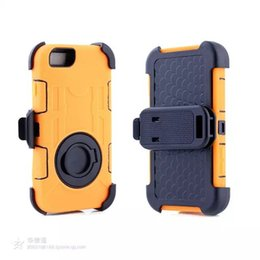 Wholesale Hybrid Armor Case Clip Ring Kickstand Shatterproof Back Cover Case For IPhone s SE s plus Galaxy S6 S7 EDGE OPP Bag